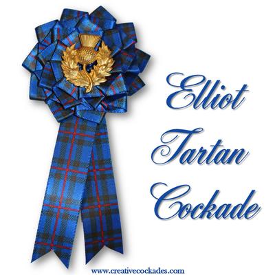 Elliot Tartan Cockade