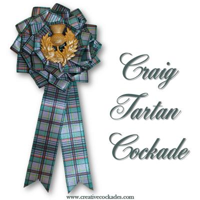 Craig Tartan Cockade