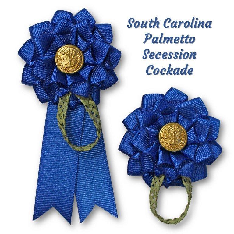 South Carolina Blue Palmetto Secession Cockade