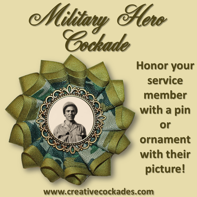 Military Hero Cockade