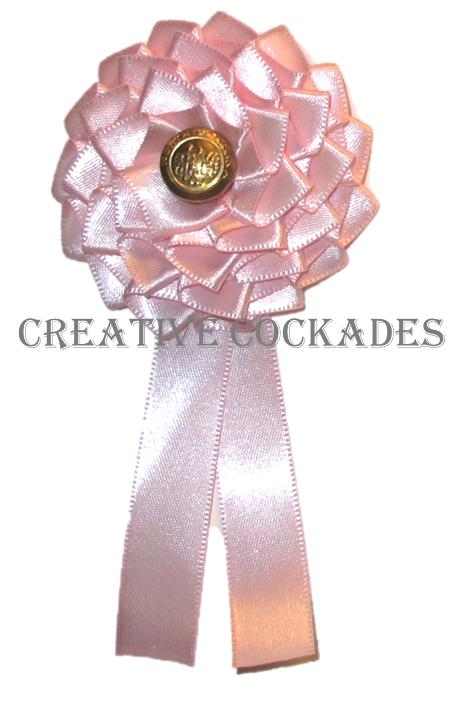 North Carolina Pink Cockade - Destash