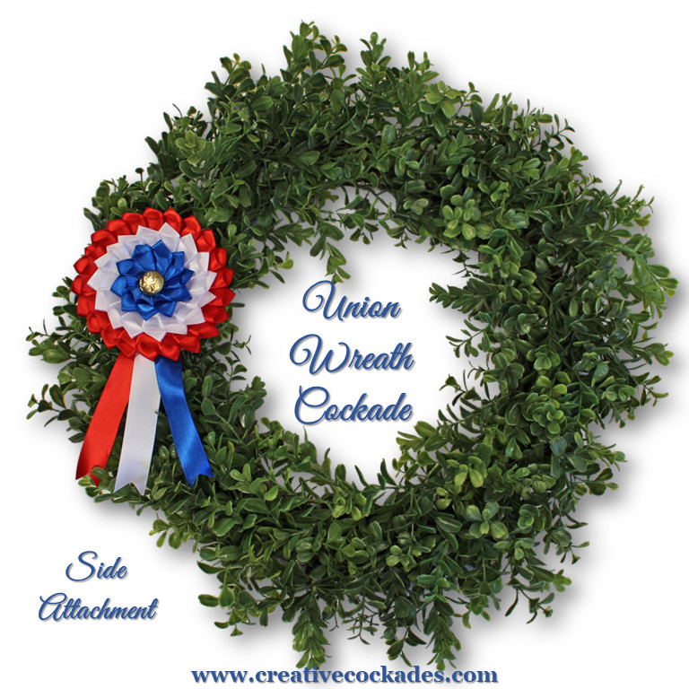 Union Wreath Cockade