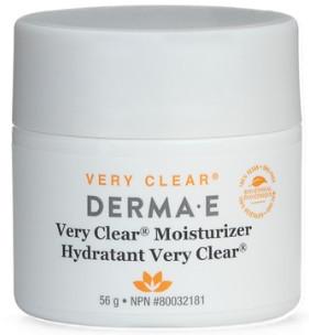 DERMA•E  Very Clear Cream