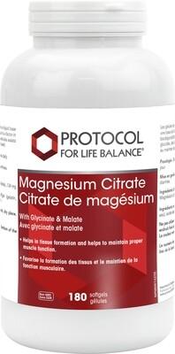 Magnesium Citrate Gels