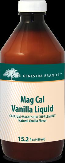 Mag Cal Vanilla Liquid