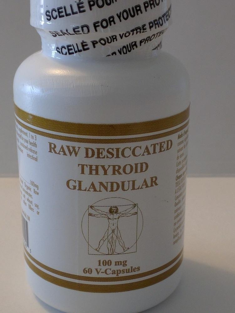 Desiccated Thyroid (Prescription)