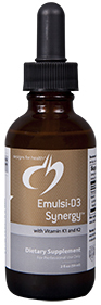 Emulsi-D3 +K2 Synergy by Designs for Health