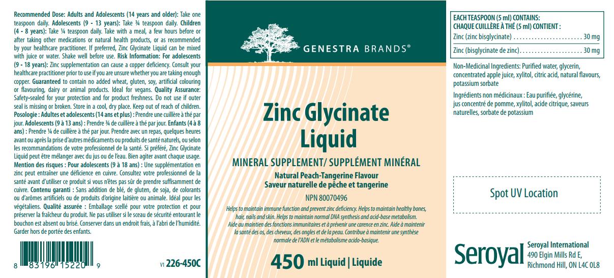 Zinc Glycinate Liquid