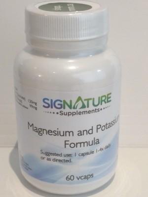 Magnesium and Potassium Formula