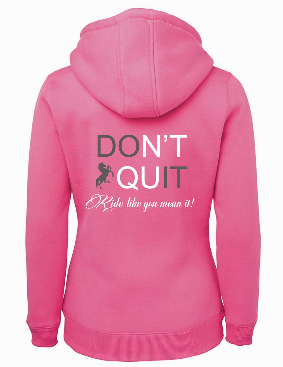 """""""Don't Quit"""" Shepherd Hoodie - Ladies"""