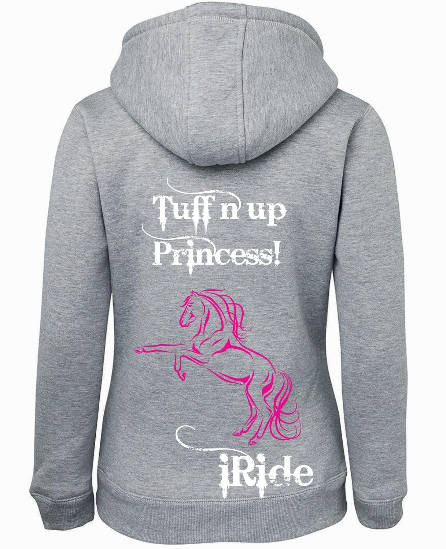 """""""Tuff n Up Princess"""" Shepherd Hoodie - Ladies"""