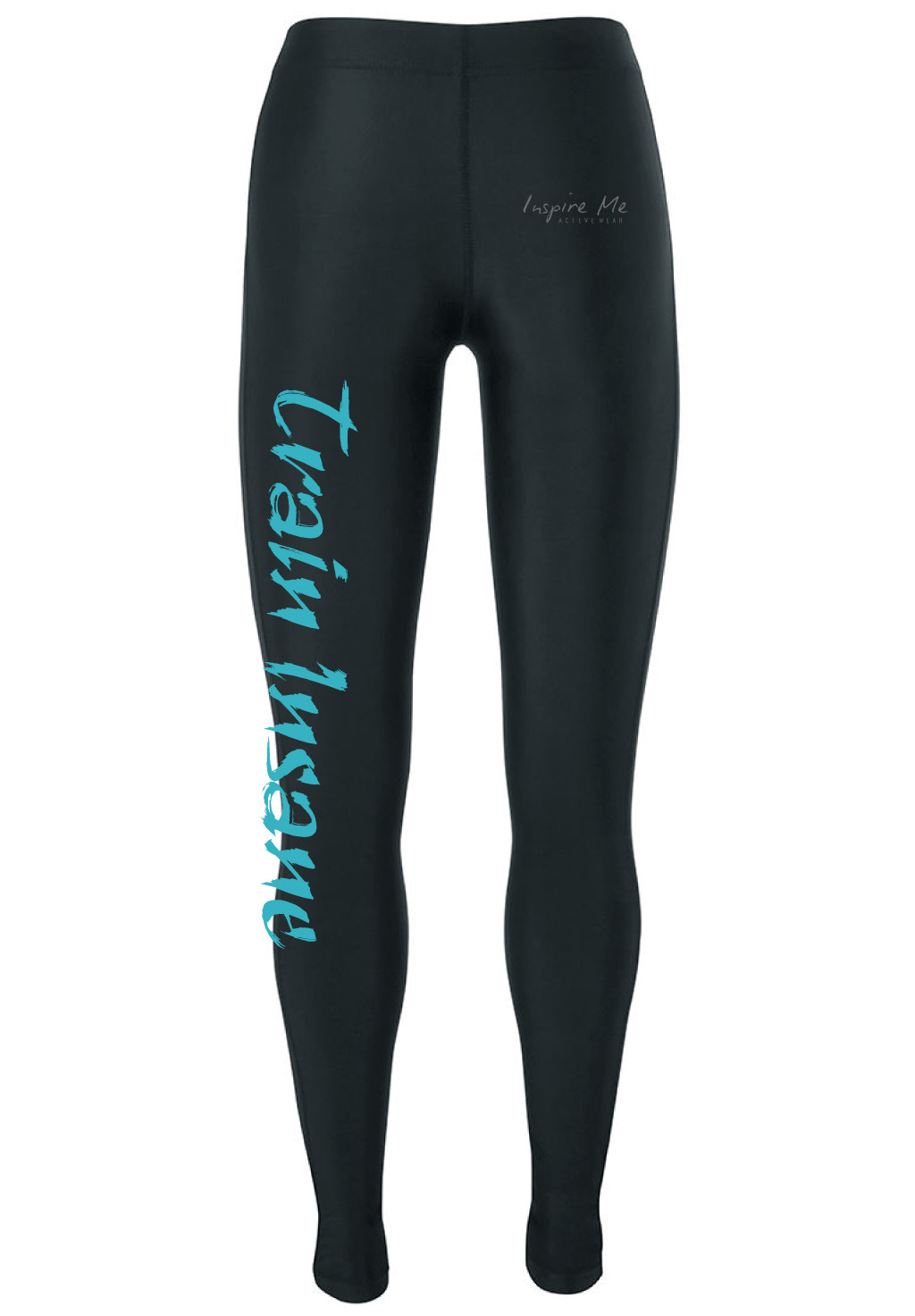 """Train Insane"" Tights - Ladies Fitness / Yoga Tights"
