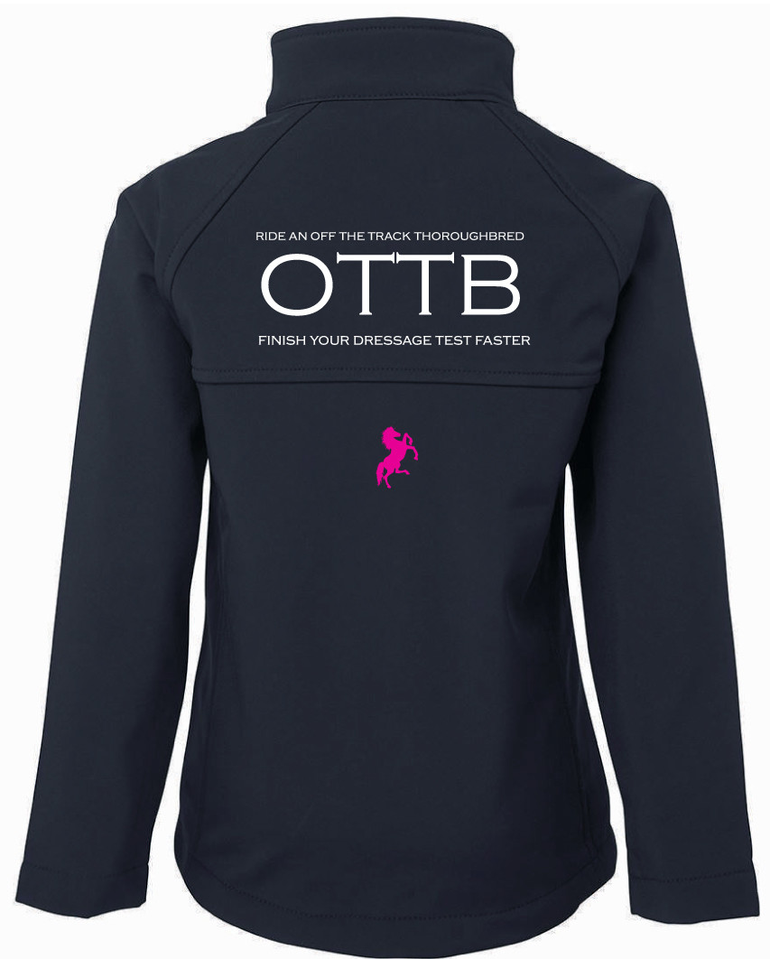"""OTTB"" Jacket - Ladies Soft Shell"