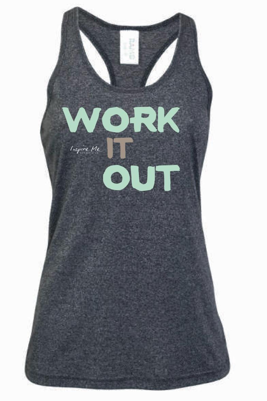 """""""Work It Out"""" Singlet - Ladies Greatness Singlet"""