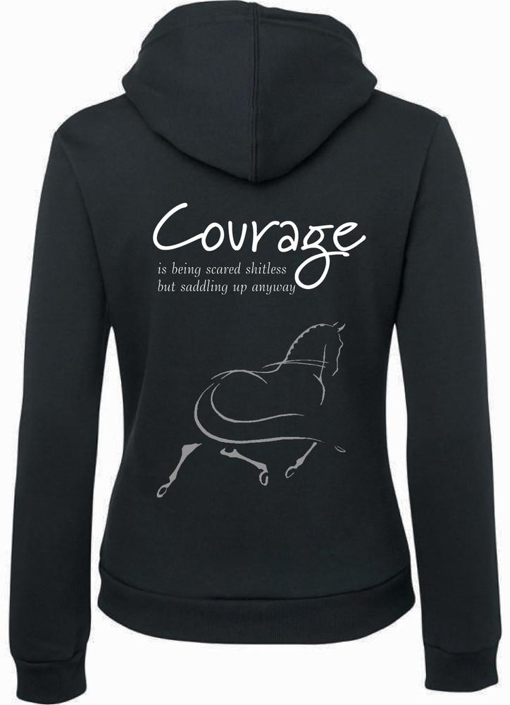"""""""Courage"""" Hoodie - Men's & Ladies"""