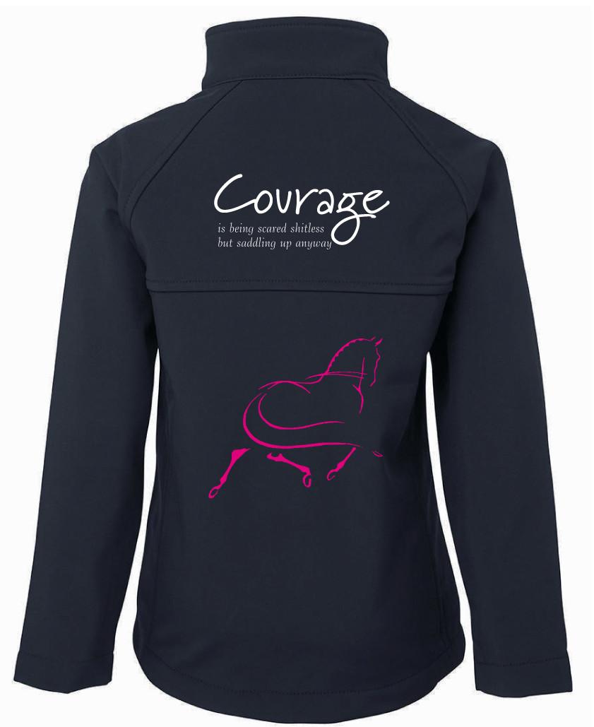 """""""Courage"""" Jacket - Ladies Soft Shell Jacket"""