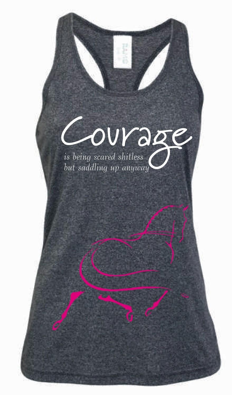 """Courage"" Singlet - Ladies Greatness Singlet"