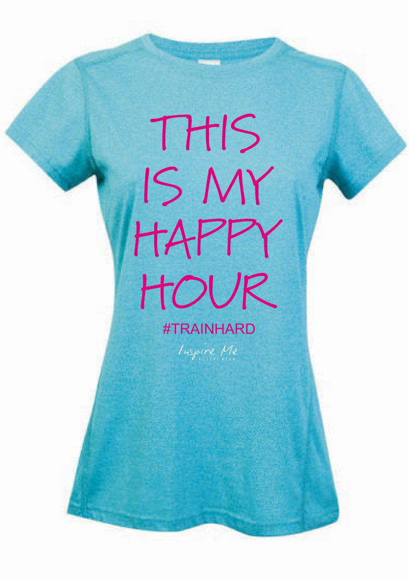 """Happy Hour"" Tee - Ladies Greatness Tee"
