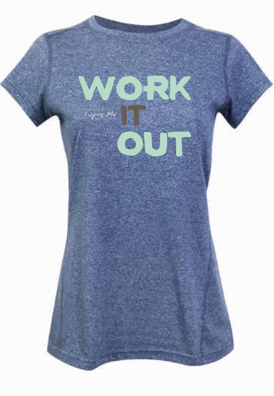 """""""Work It Out"""" Tee - Ladies Greatness Tee"""