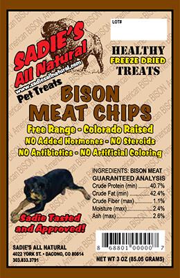 BISON MEAT CHIPS