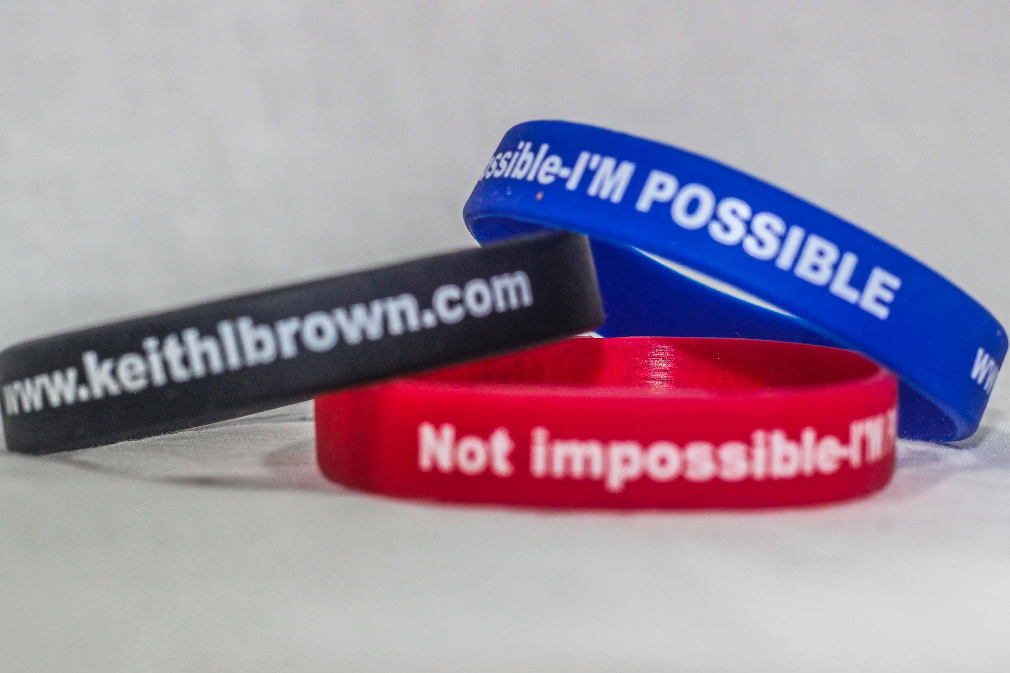 I'm Possible Wristbands (Quantities of 10 & up) 00017