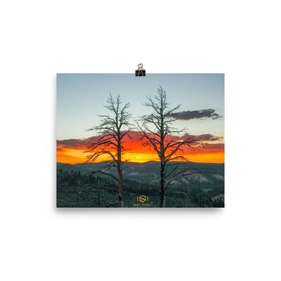 Scorched Sunset Print