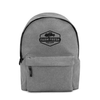 Farm Fresh Embroidered Backpack