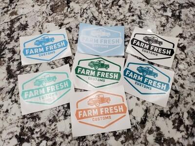 Farm Fresh decal 3.5x5