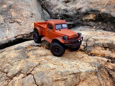 Farm Fresh 1/18 Orange Power Wagon RTR $150 shipped