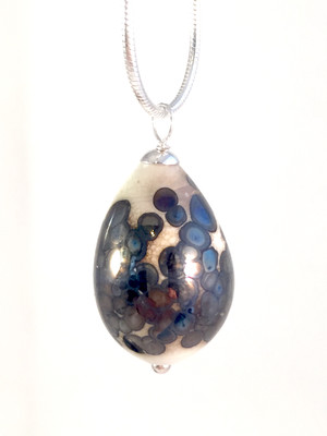 Killdeer egg necklace