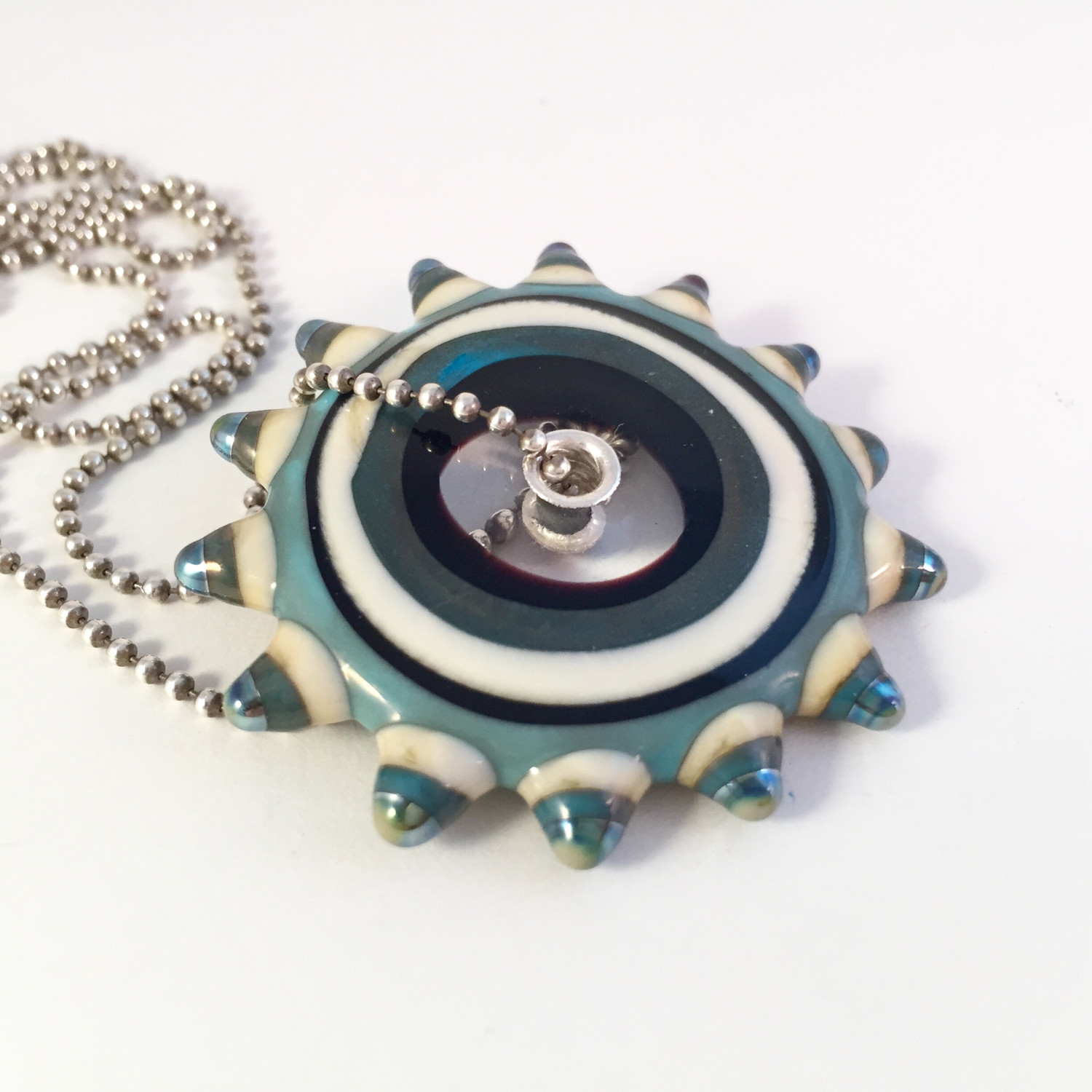 Gear necklace