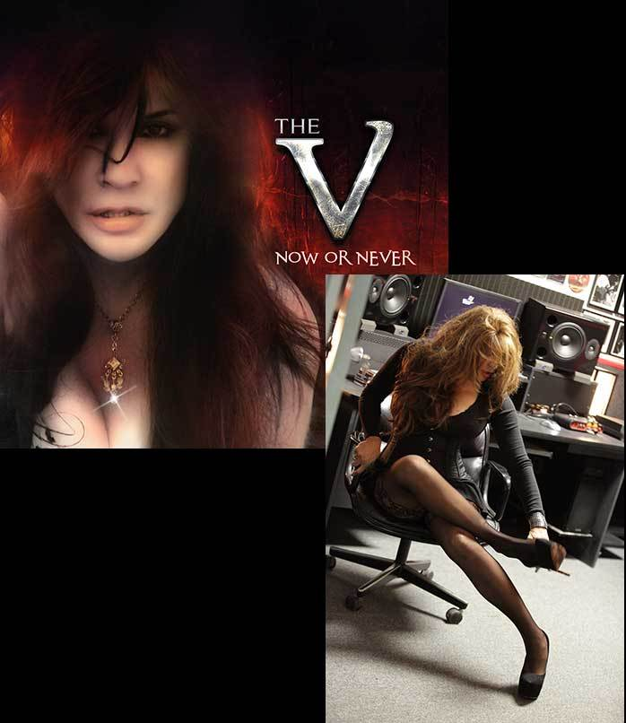 "Autographed Veronica Freeman - NOW OR NEVER CD/5""x7"" Photo"