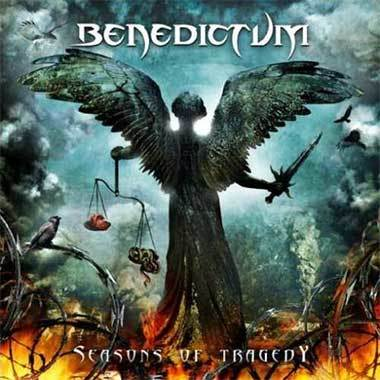 Autographed Benedictum - SEASONS OF TRAGEDY CD