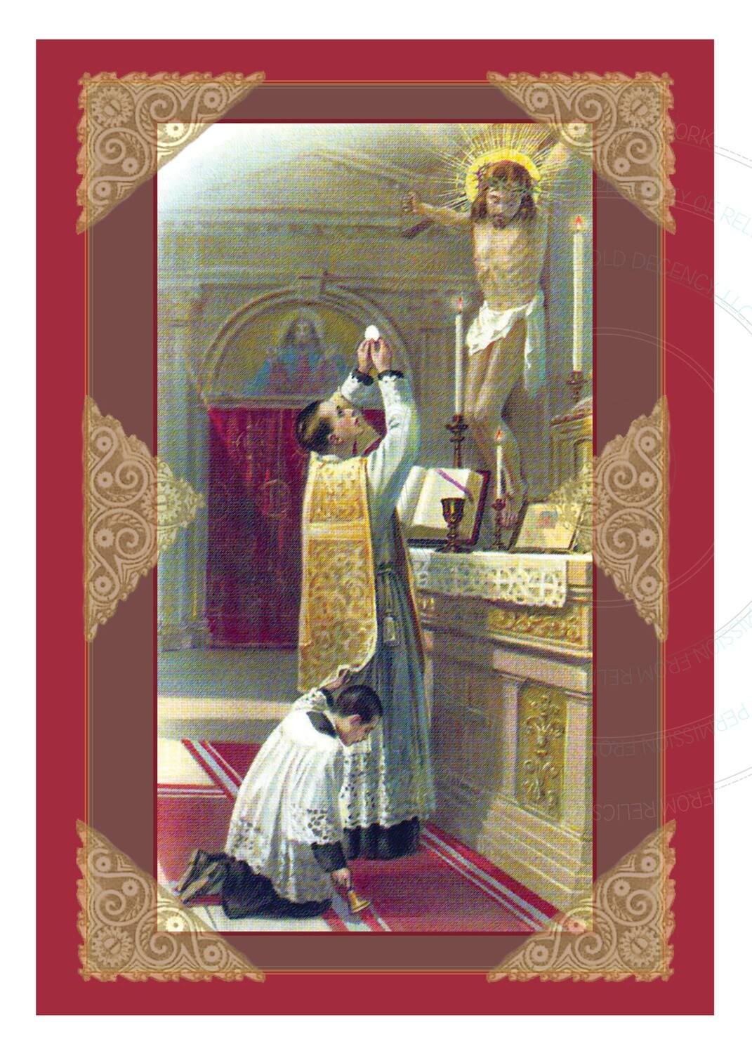 Ordination Anniversary Card ~ Elevation