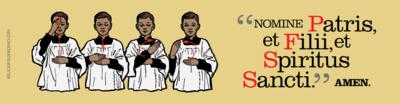 Nomine Patris, et Filii, et Spiritus Sancti