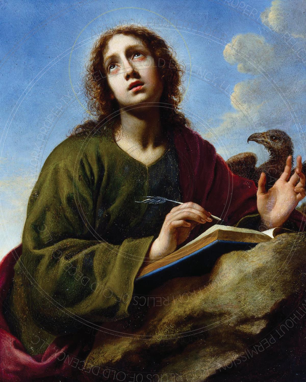 "8"" x 10"" Print -- St. John the Evangelist (10099)"