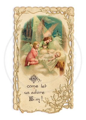 Christmas Card -- Adoration