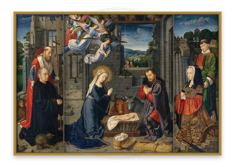 Christmas Card -- All come to adore Him