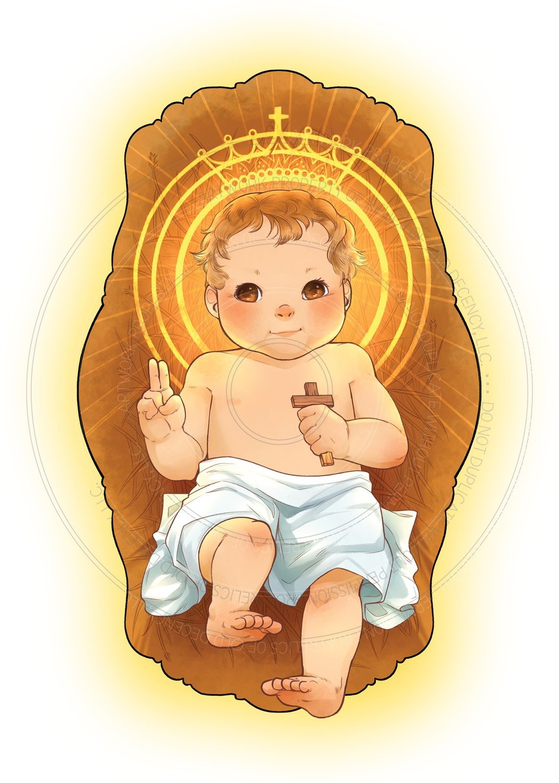 Christmas Card -- The Baby King
