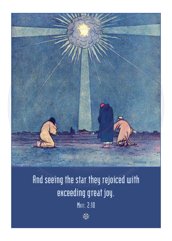 Christmas Card -- A star, a star!