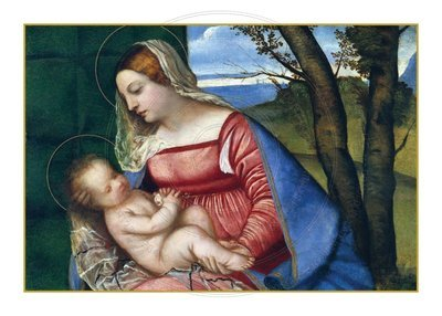 Christmas Card -- Madonna and Child