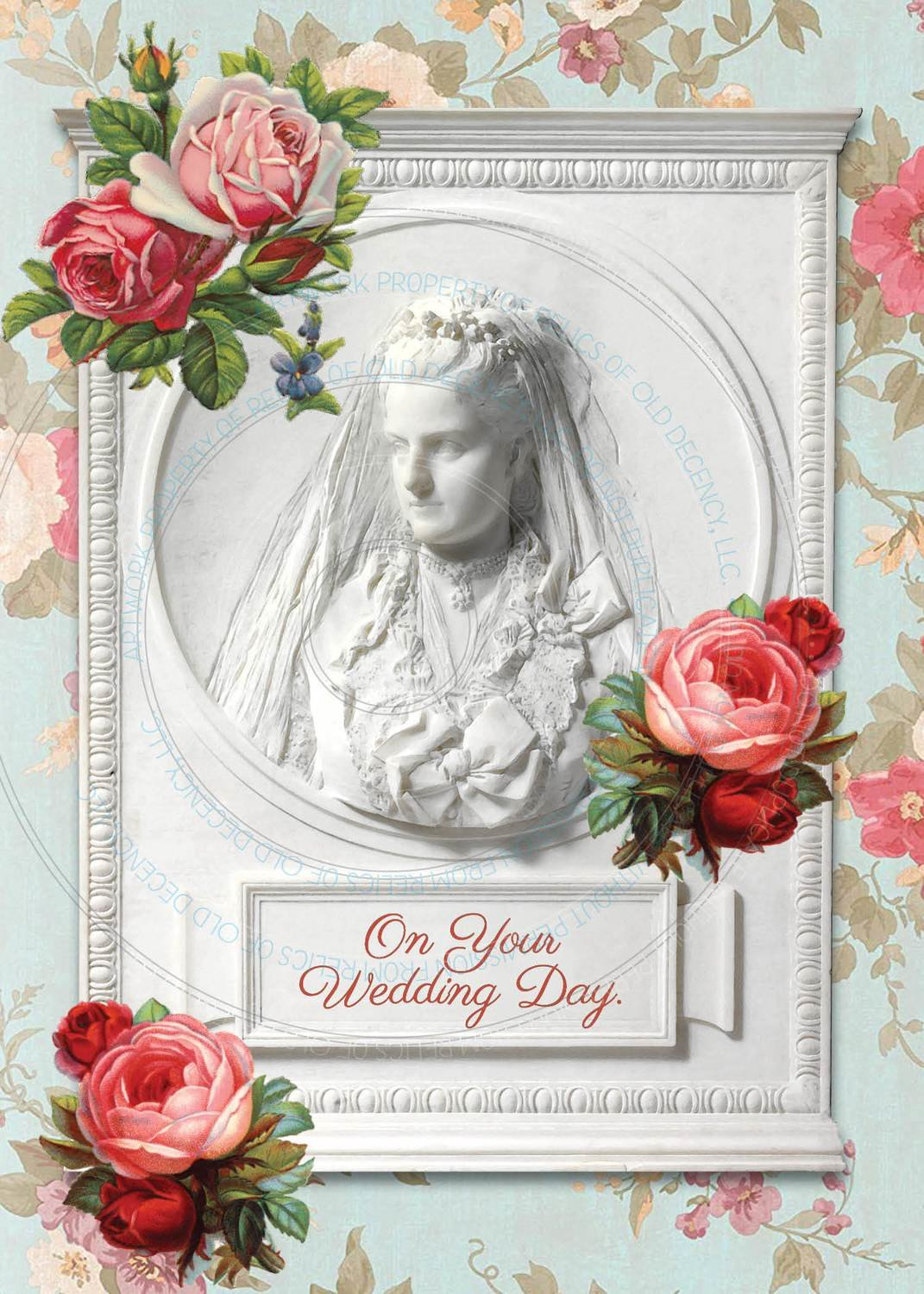Wedding Card ~ Roses
