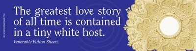 Greatest Love Story Bumper Sticker