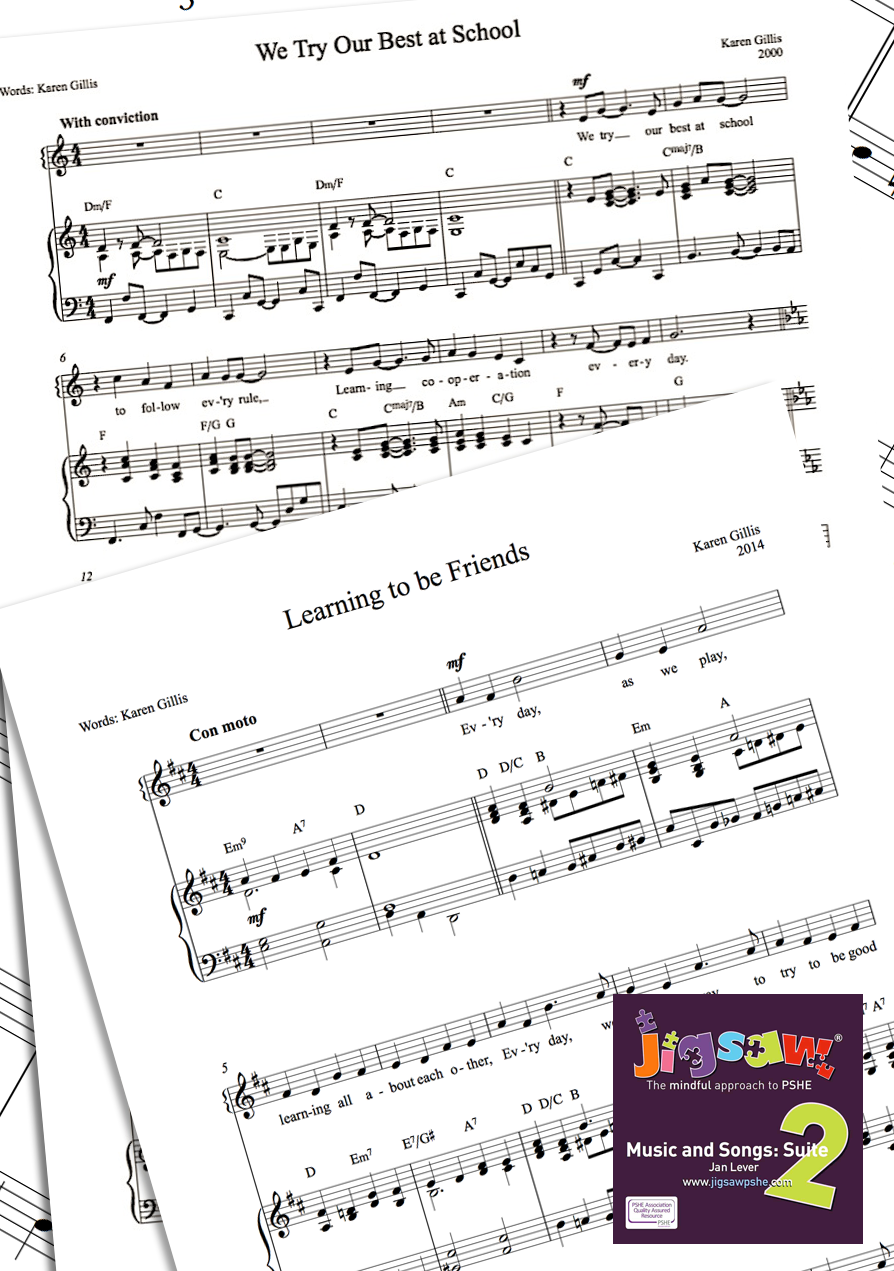 Sheet Music Supplied (PDFs)