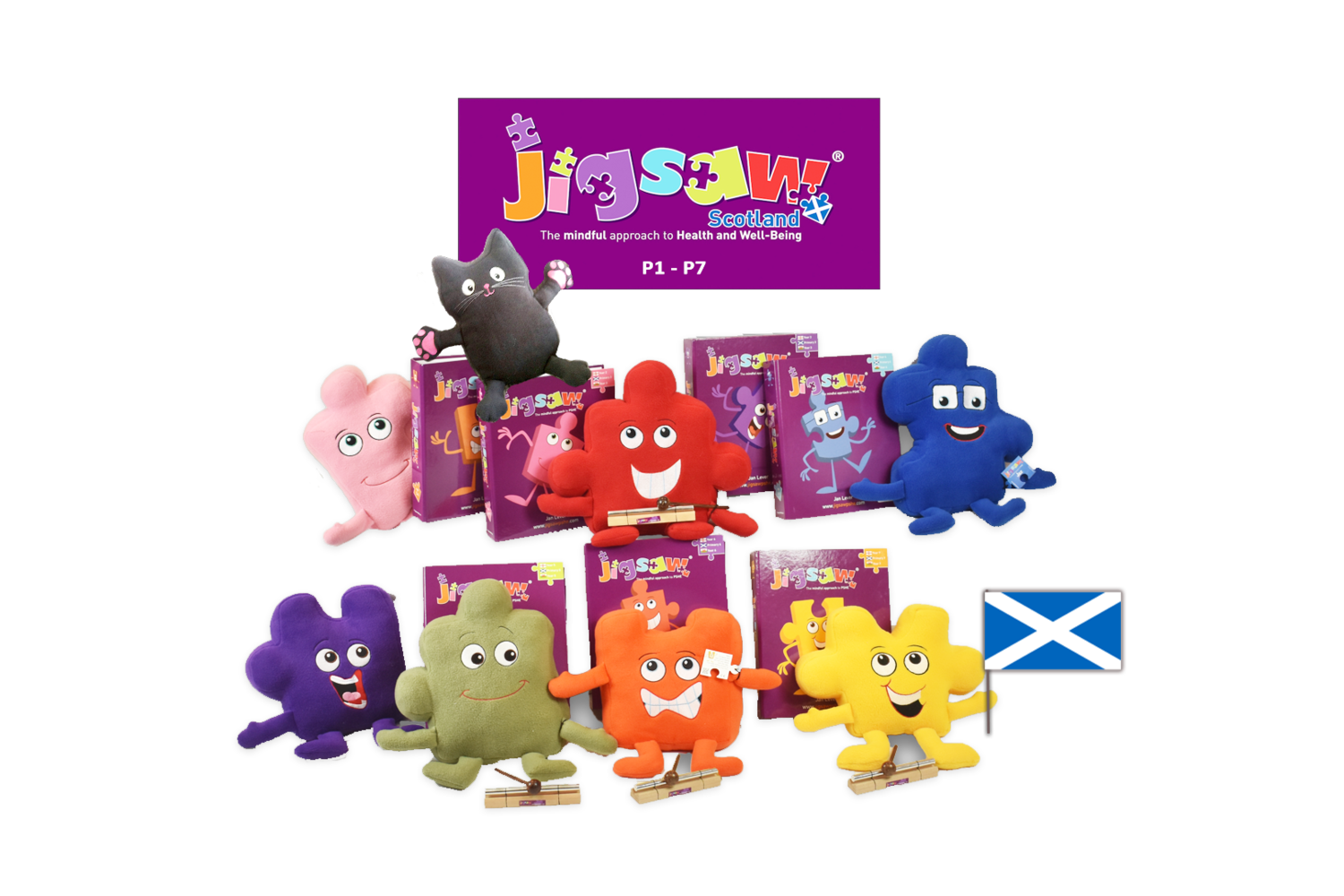 Jigsaw Whole School Set (Scotland)