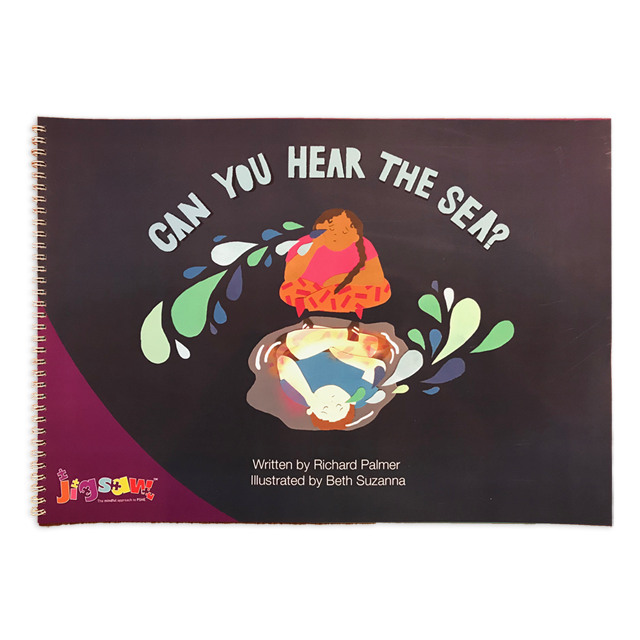 Can You Hear The Sea? - Book (A3) JPUB-CANYOUHEAR-A3