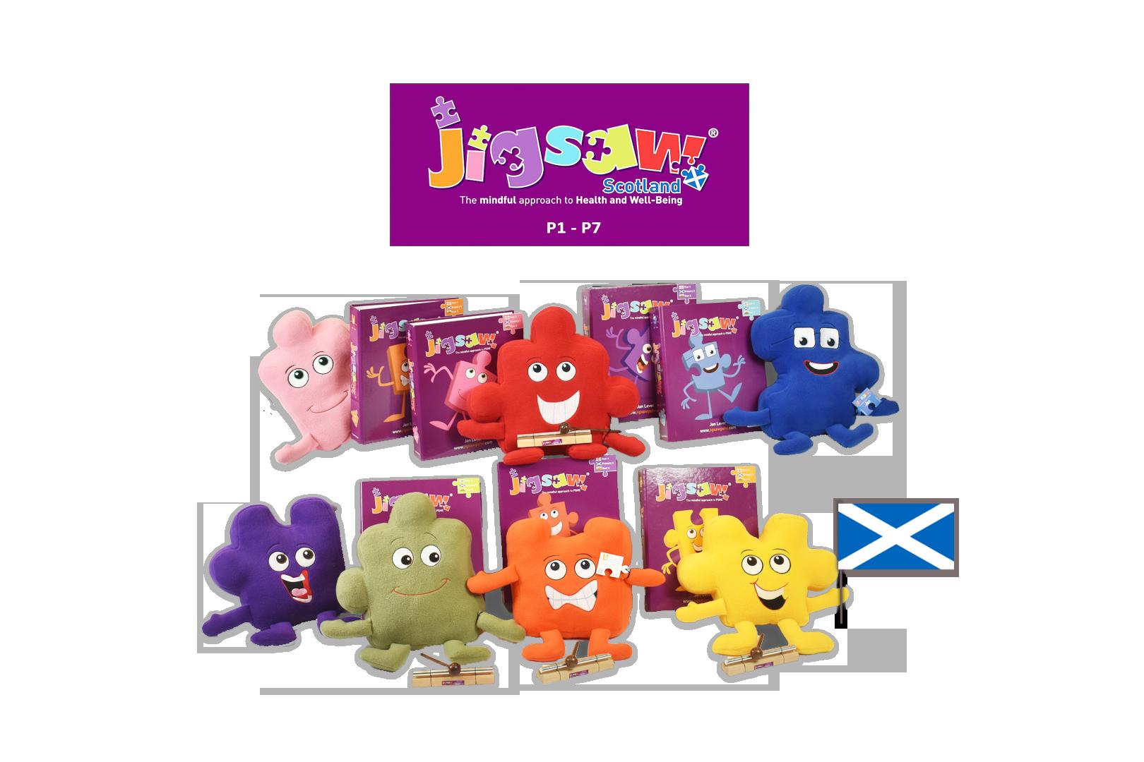Jigsaw Whole School Set (Scotland) J-WHOLE-PRIMARY-SCOTLAND