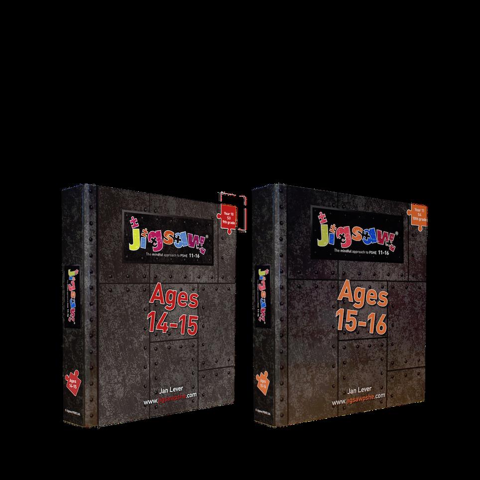 Jigsaw 11-16 KS4 Set for Ages 14-16 (Y10-Y11)