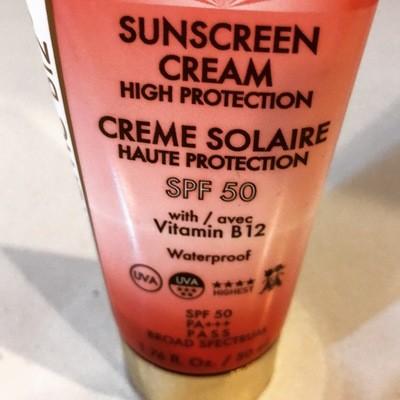 Swiss Sunscreen with B12