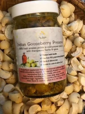 Amalaki  (Indian Gooseberry Preserve)